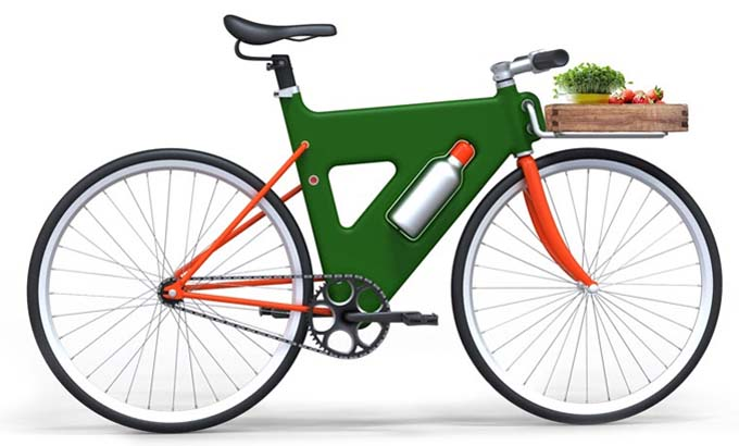 Plancha: Una bici producida por inyección de plástico / http://www.curriqui.es/