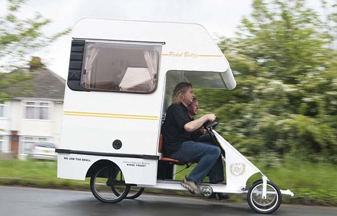 Amigos de la bicicleta casa rodante propulsada por pedales for Casa rodante para parrilla